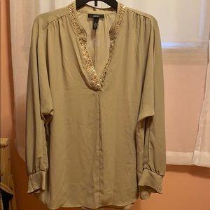 Alfani XL beige blouse